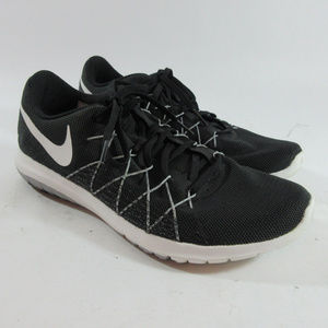 Nike Flex Fury 2 Black/White Running Shoes